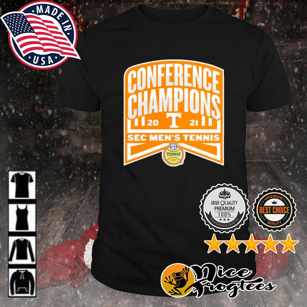 Tennessee Volunteers 2021 SEC Men's Tennis Conference Champions shirt
