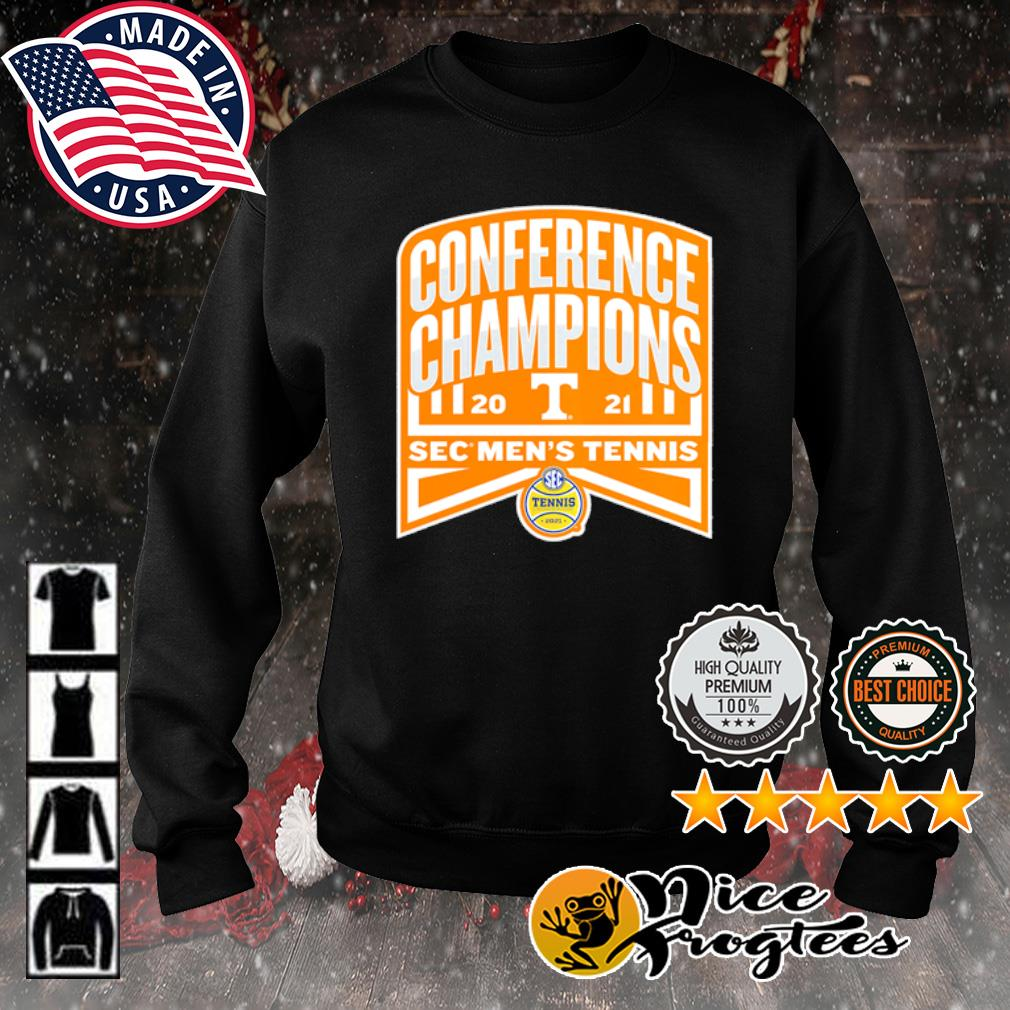 Tennessee Volunteers 2021 SEC Men's Tennis Conference Champions s sweater