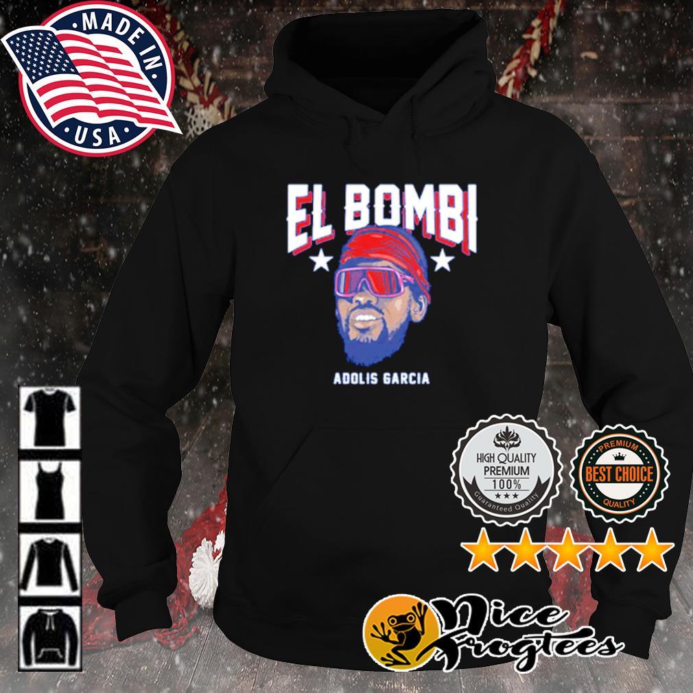 Texas Adolis García El Bombi s hoodie
