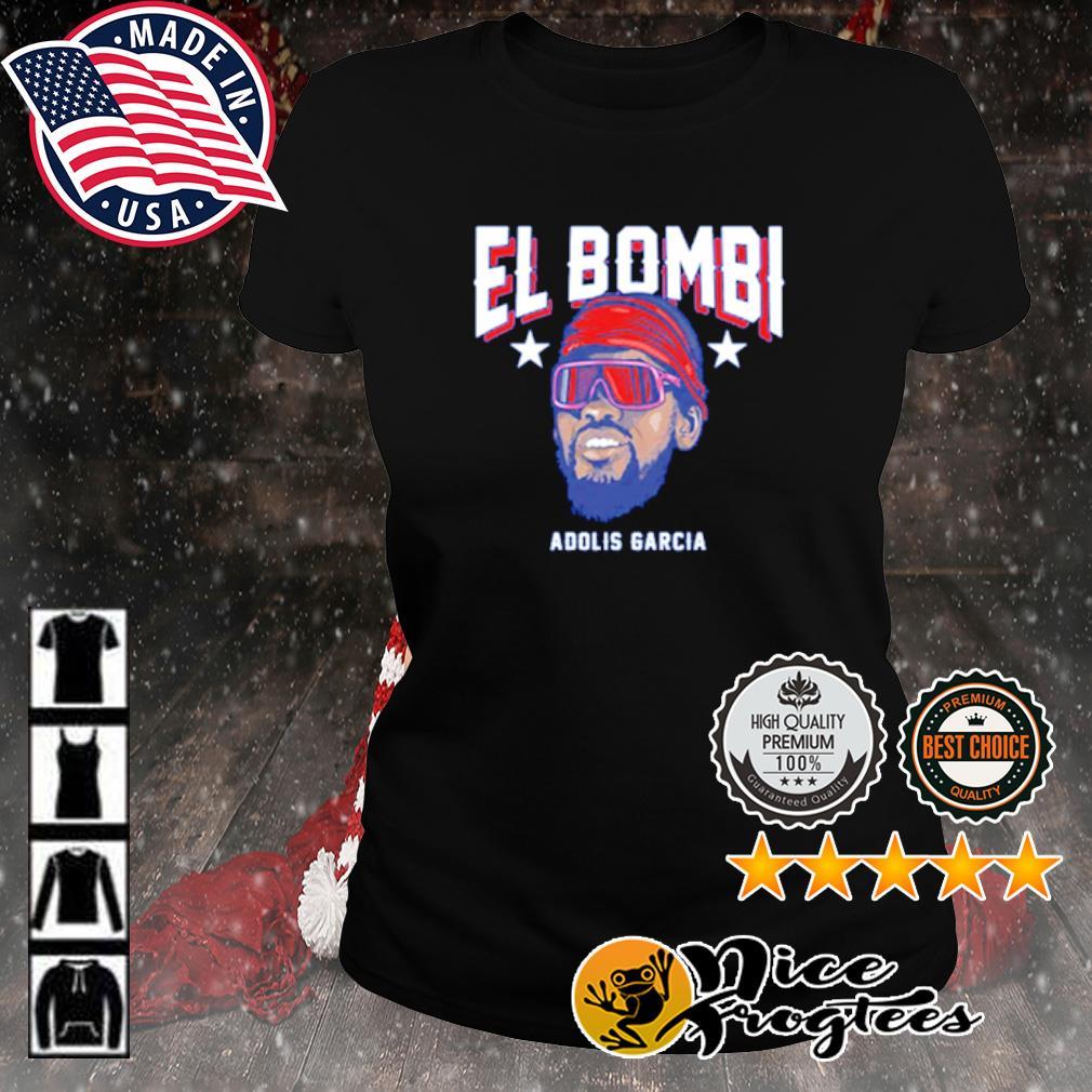 Texas Adolis García El Bombi s ladies-tee