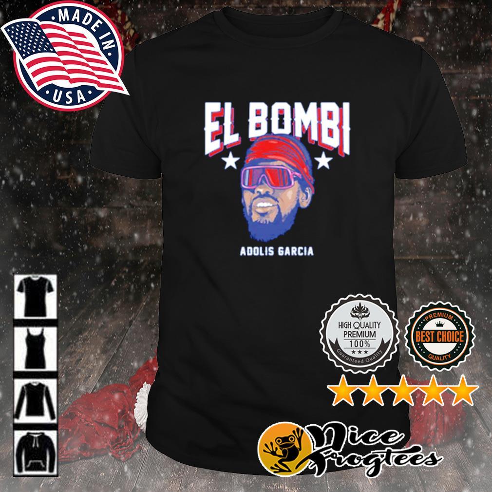 Texas Adolis García El Bombi shirt