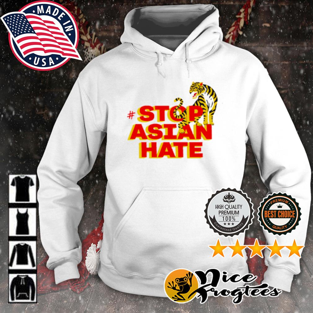 Tiger stop Asian hate s hoodie