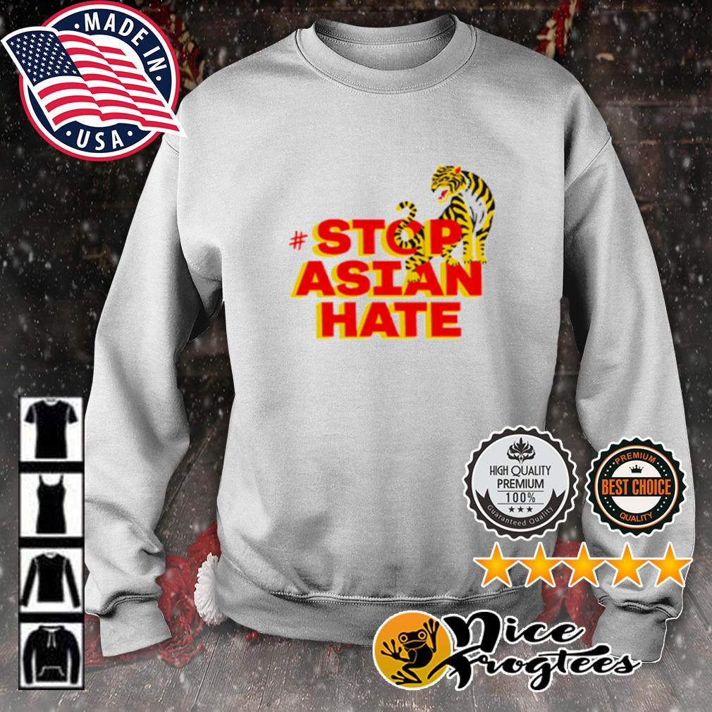 Tiger stop Asian hate s sweater