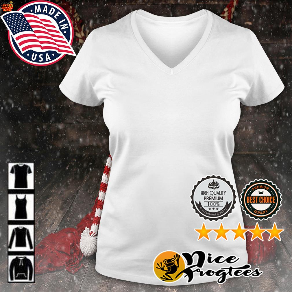 Tiger stop Asian hate s v-neck-t-shirt