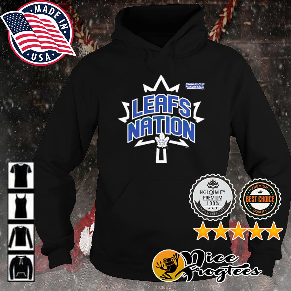 Toronto Maple Leafs 2021 Stanley Cup Playoffs Bound Heads Up Play s hoodie