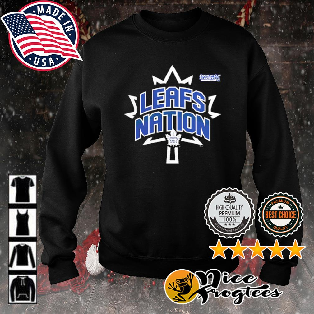 Toronto Maple Leafs 2021 Stanley Cup Playoffs Bound Heads Up Play s sweater