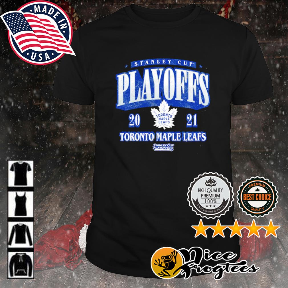Toronto Maple Leafs 2021 Stanley Cup Playoffs Bound Ring the Alarm Tri-Blend shirt