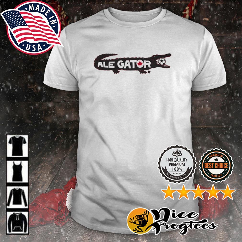 Toronto Soccer Ale Gator shirt