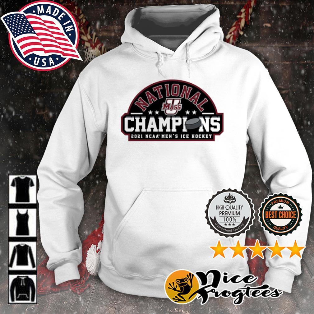 UMass Minutemen 2021 NCAA Men's Ice Hockey National Champions s hoodie
