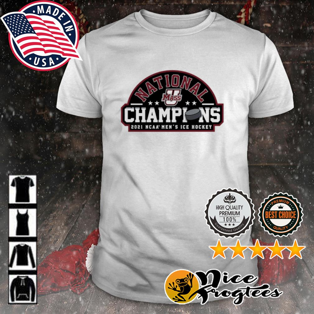 UMass Minutemen 2021 NCAA Men's Ice Hockey National Champions shirt