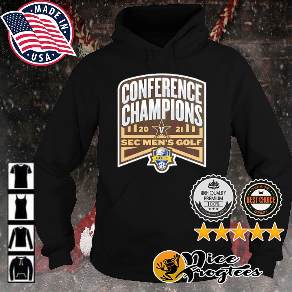 Vanderbilt Commodores 2021 SEC Men's Golf Conference Champions s hoodie