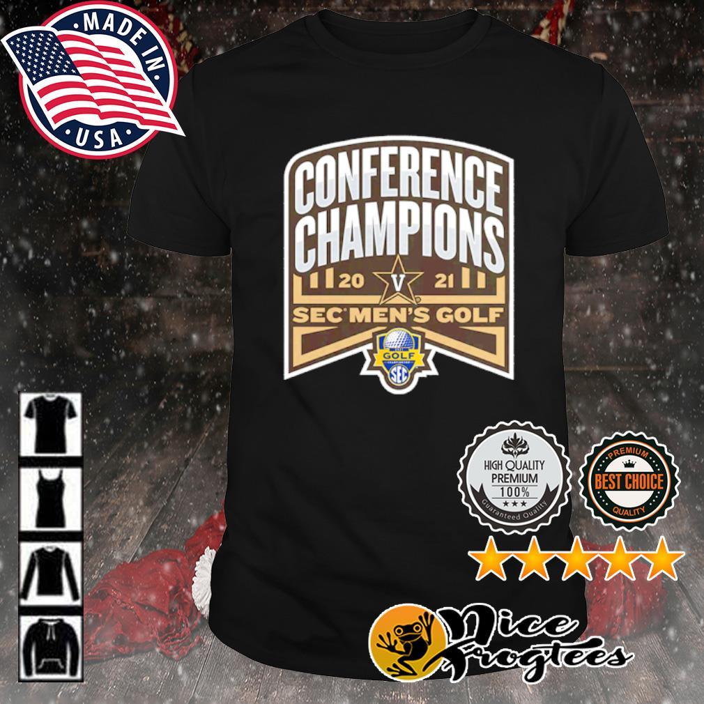 Vanderbilt Commodores 2021 SEC Men's Golf Conference Champions shirt