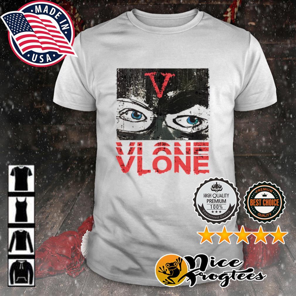 Vlone eyes Vlone shirt