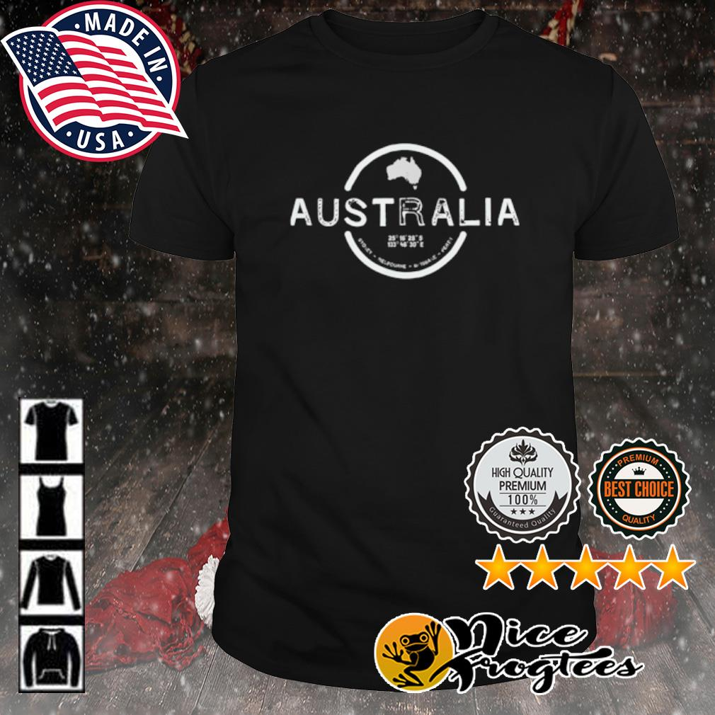 Australia Vintage Style shirt