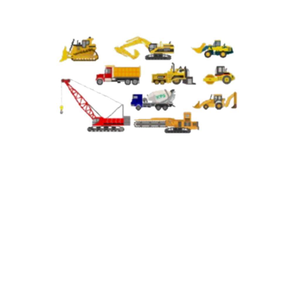 Construction Vehicles s t-shirt