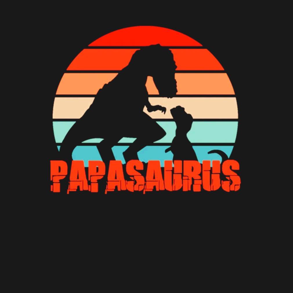 Father's Day Retro Papasaurus vintage s t-shirt