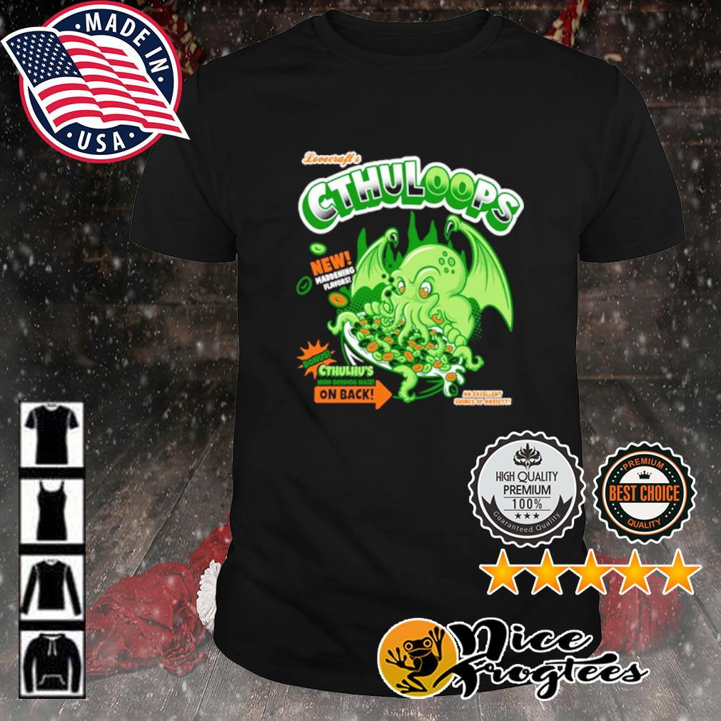 Lovecraft's Cthuloops shirt
