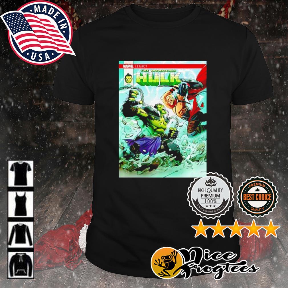 Marvel Incredible Hulk Vs The Mighty Thor shirt