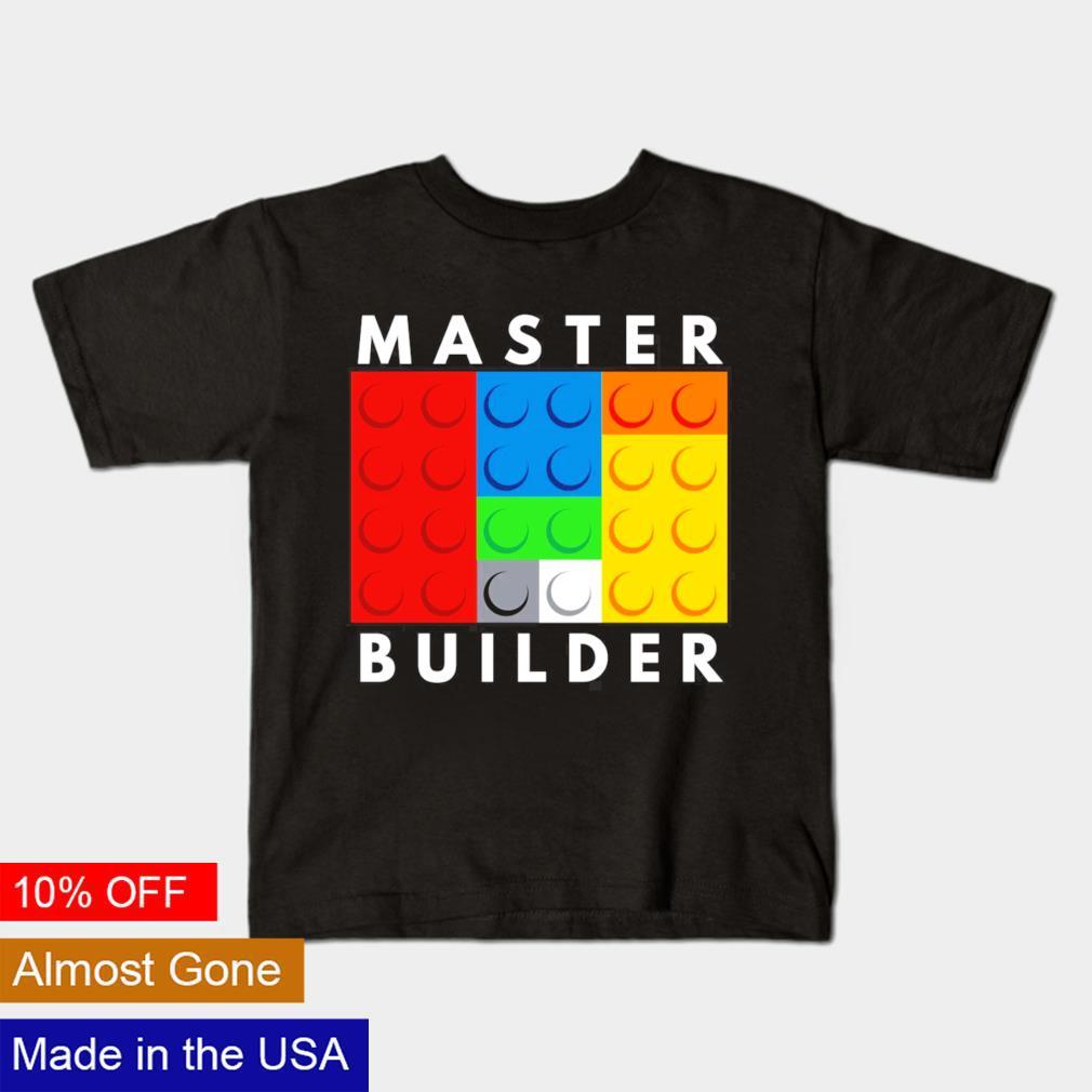 Master builder kids shirt