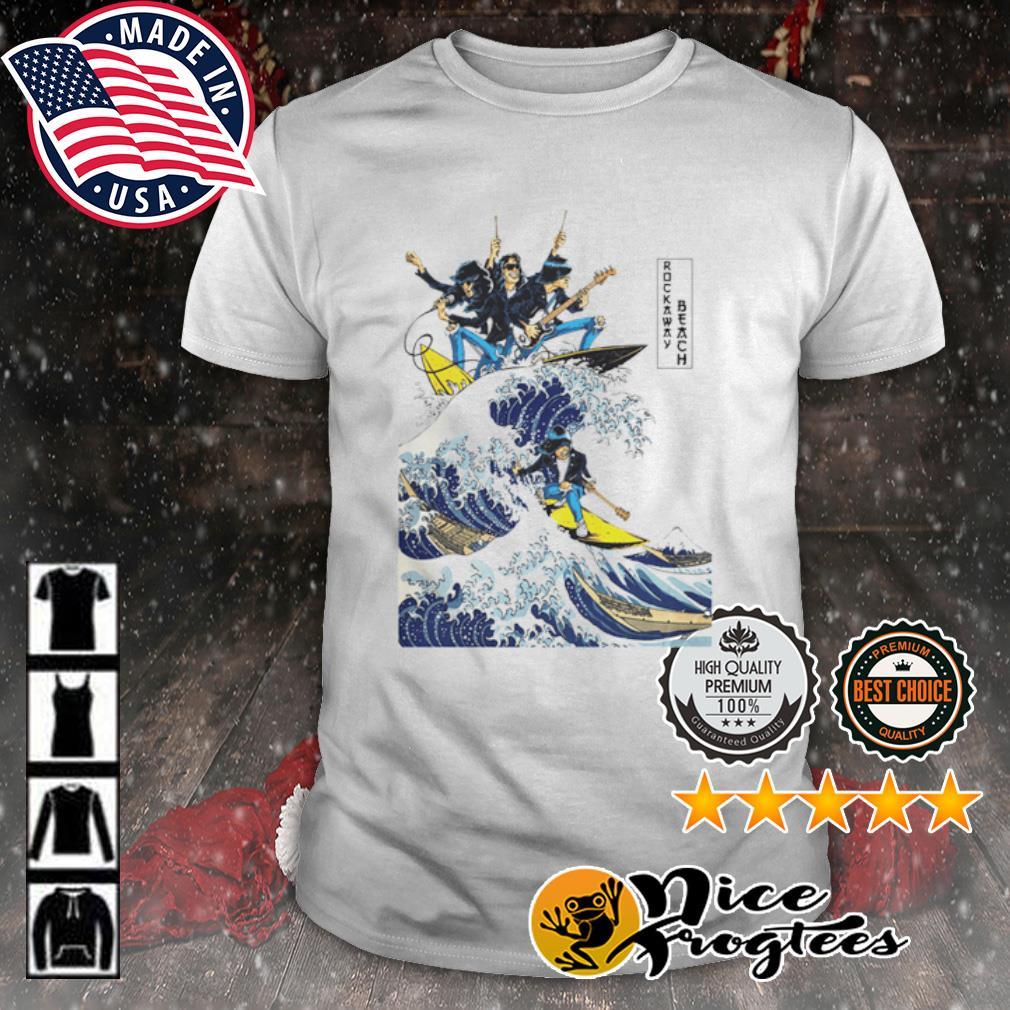 Ramones-rockaway beach shirt