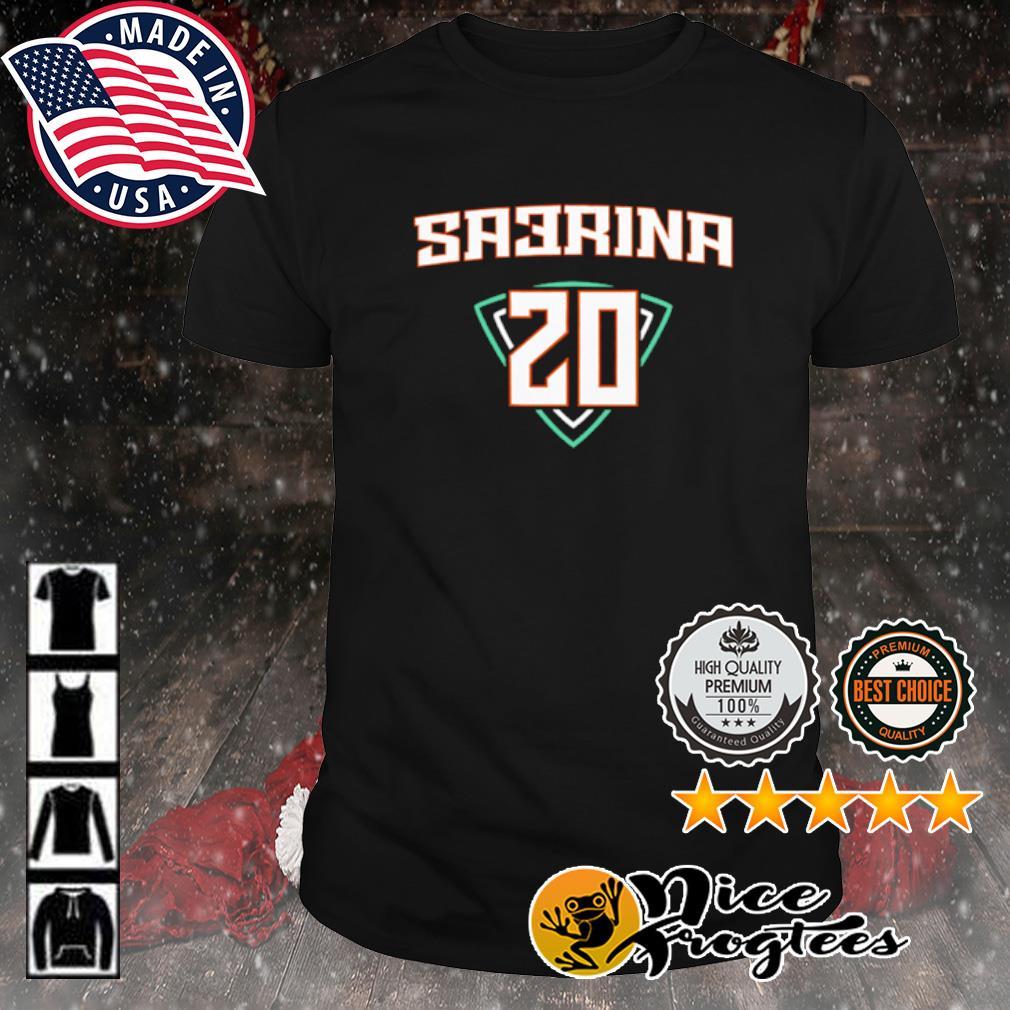 Sabrina Ionescu sa3rina shirt