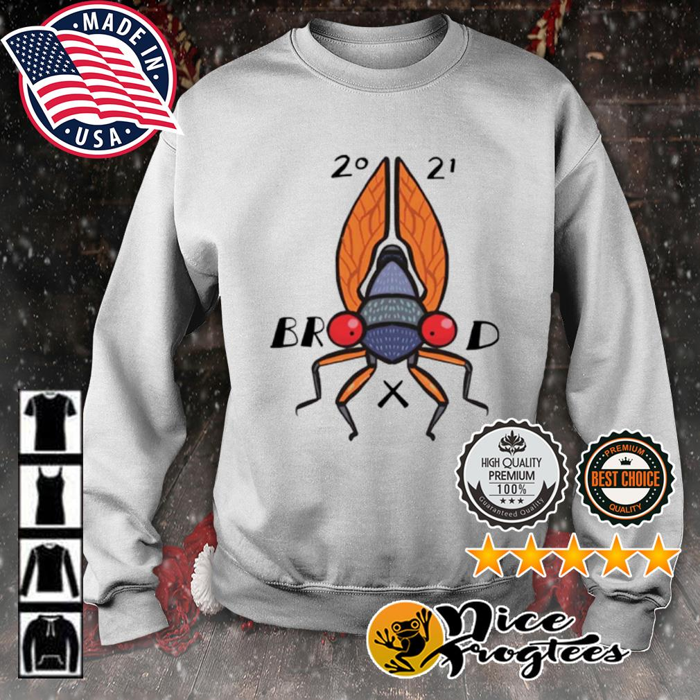 Welcome to the summer of the cicadas brood 2021 s sweater