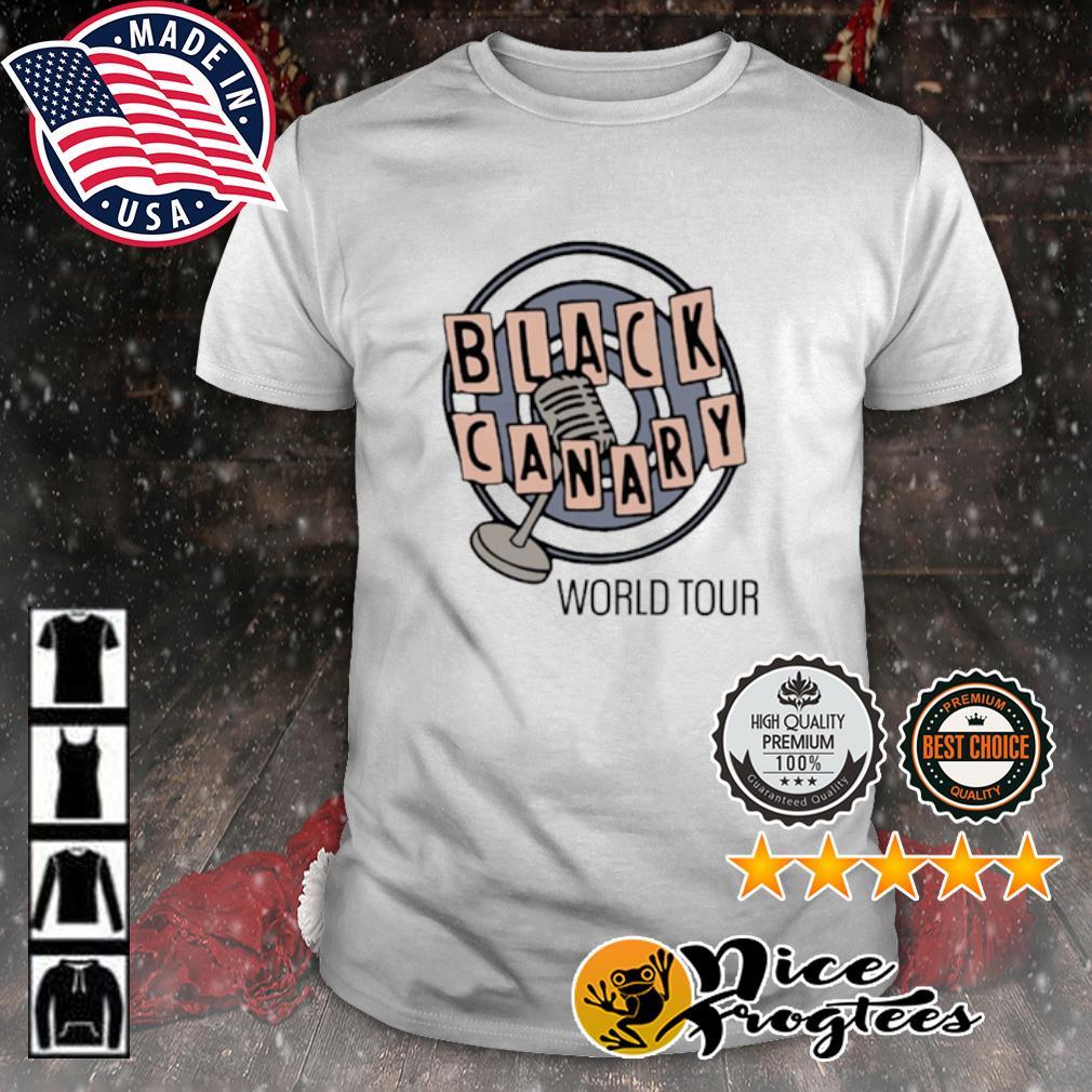 World Tour Black Canary shirt