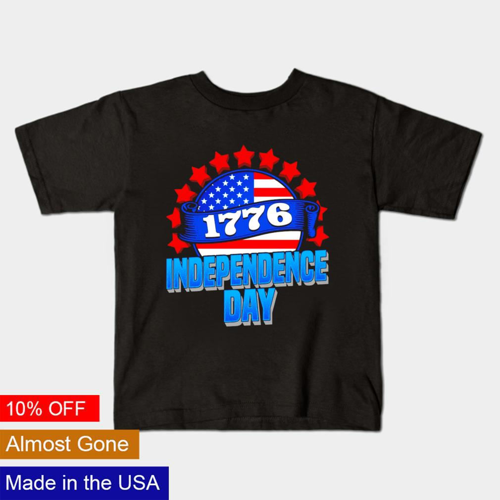 1776 independence day American flag shirt