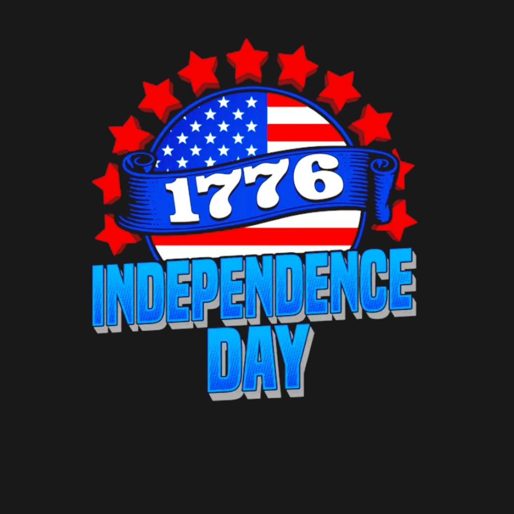 1776 independence day American flag s t-shirt