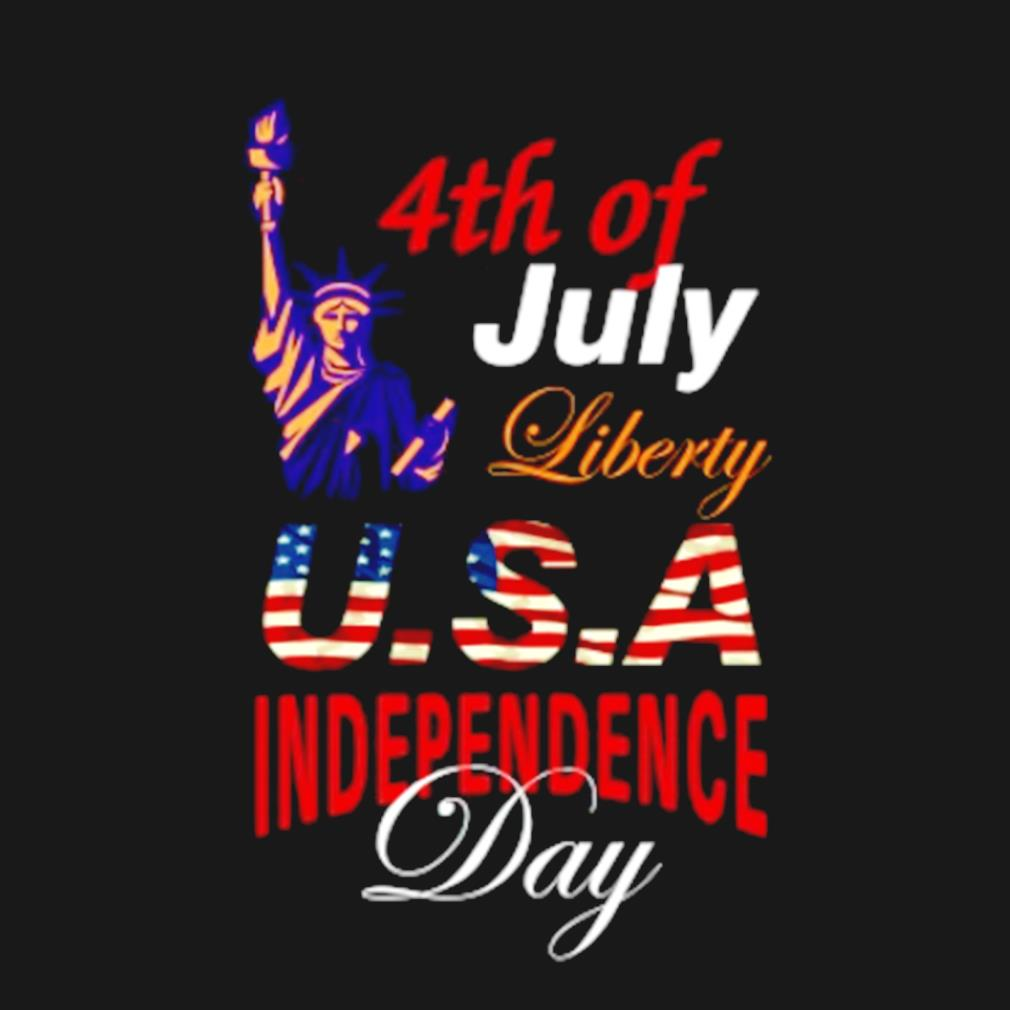 4th of July 1776 American independence day s t-shirt