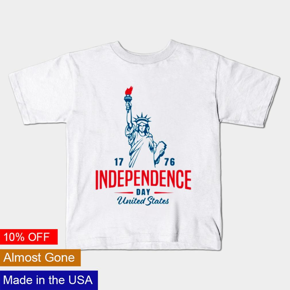 4th of July 1776 American independence day United States shirt