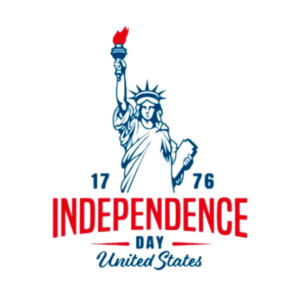 4th of July 1776 American independence day United States s t-shirt