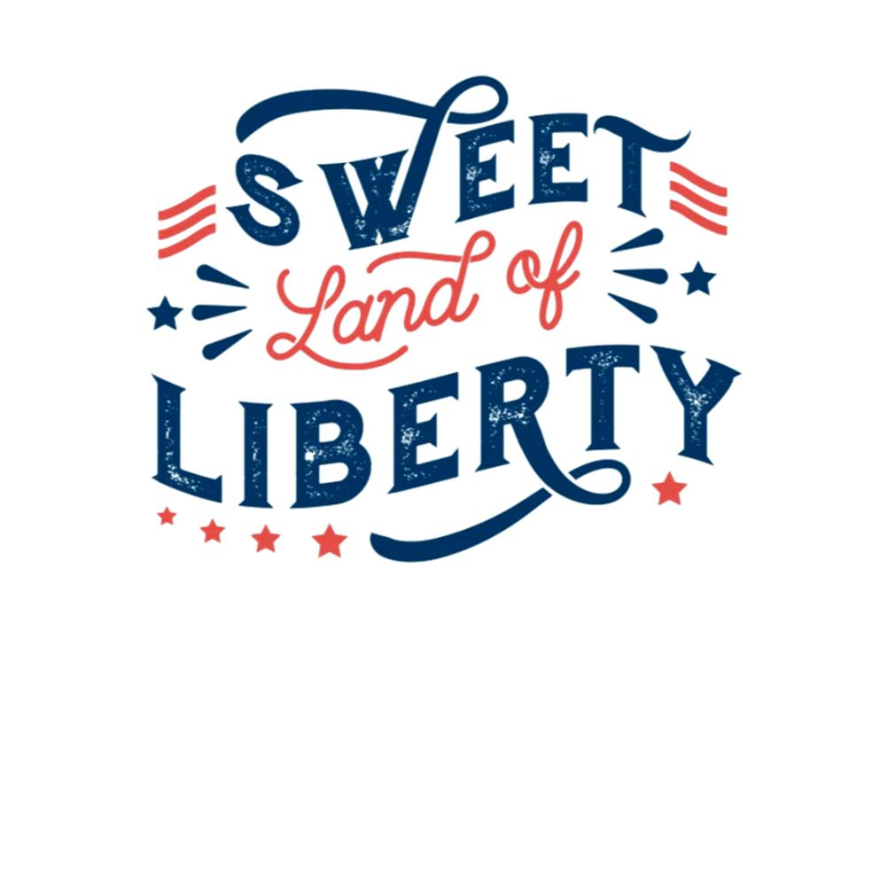 4th Of July Sweet land of Liberty s t-shirt