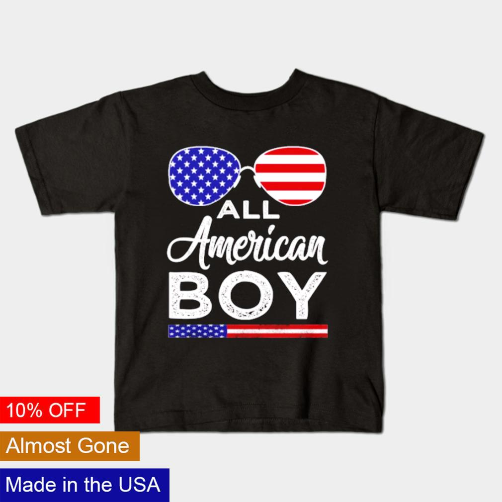 All american boy 4th Of July 2021 shirt