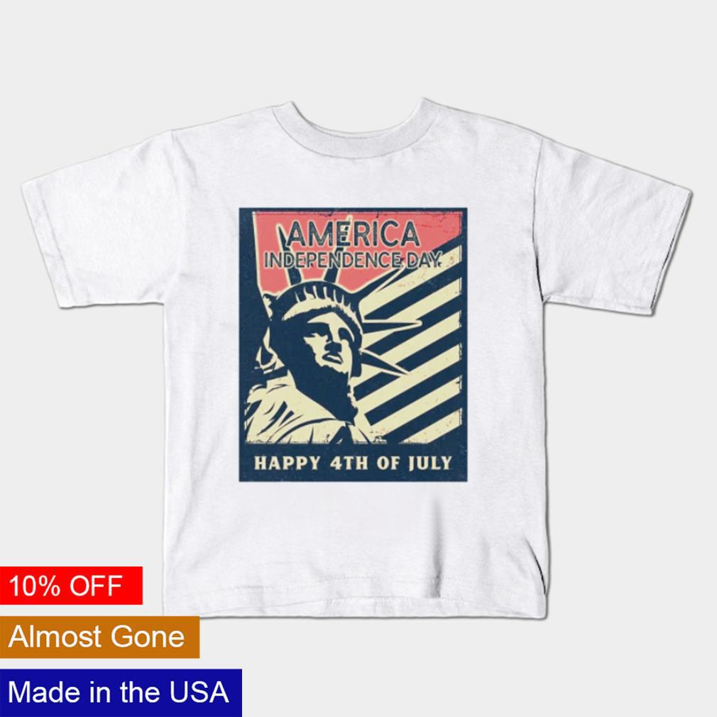 America Independence day Happy 4th of July shirt