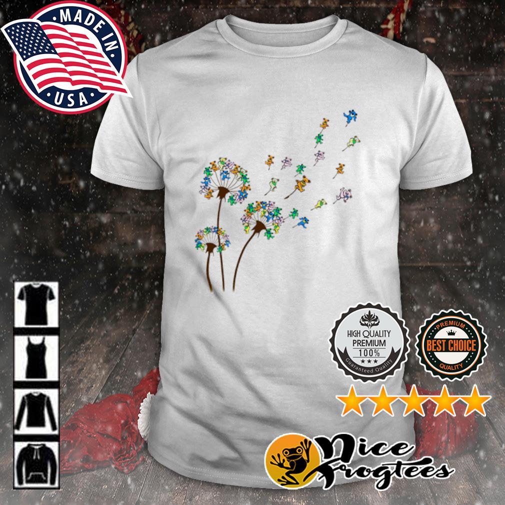 Dancing Bear dandelion shirt