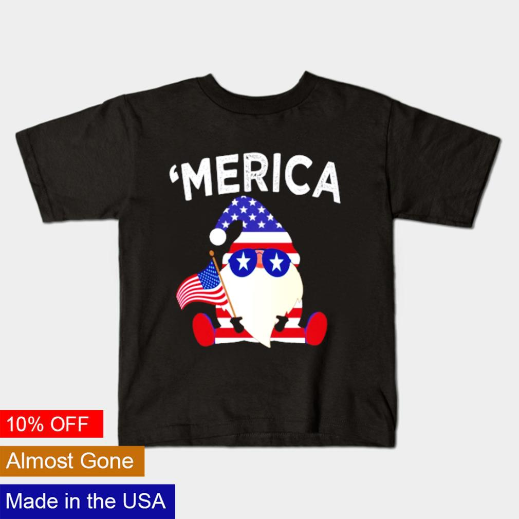 Gnome happy 4th Of July 2021 shirt