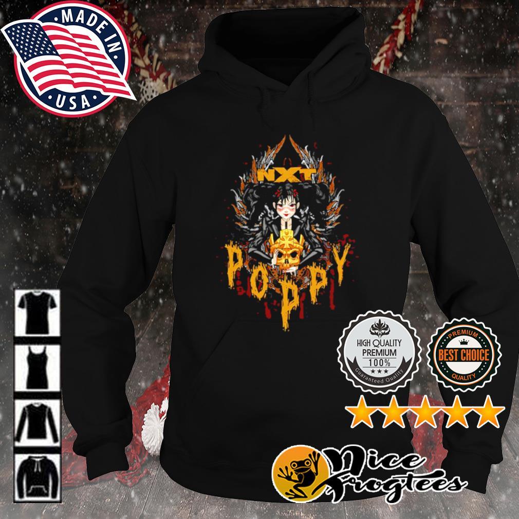 Poppy x Triple H Gold Skull NXT s hoodie