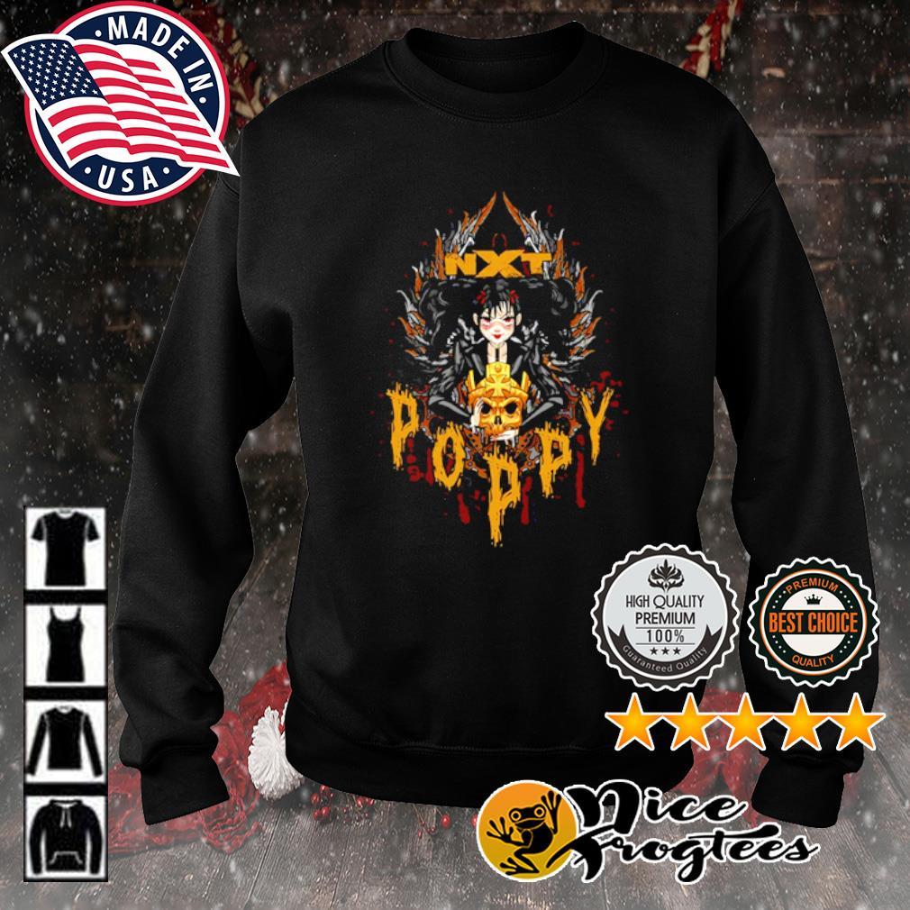 Poppy x Triple H Gold Skull NXT s sweater