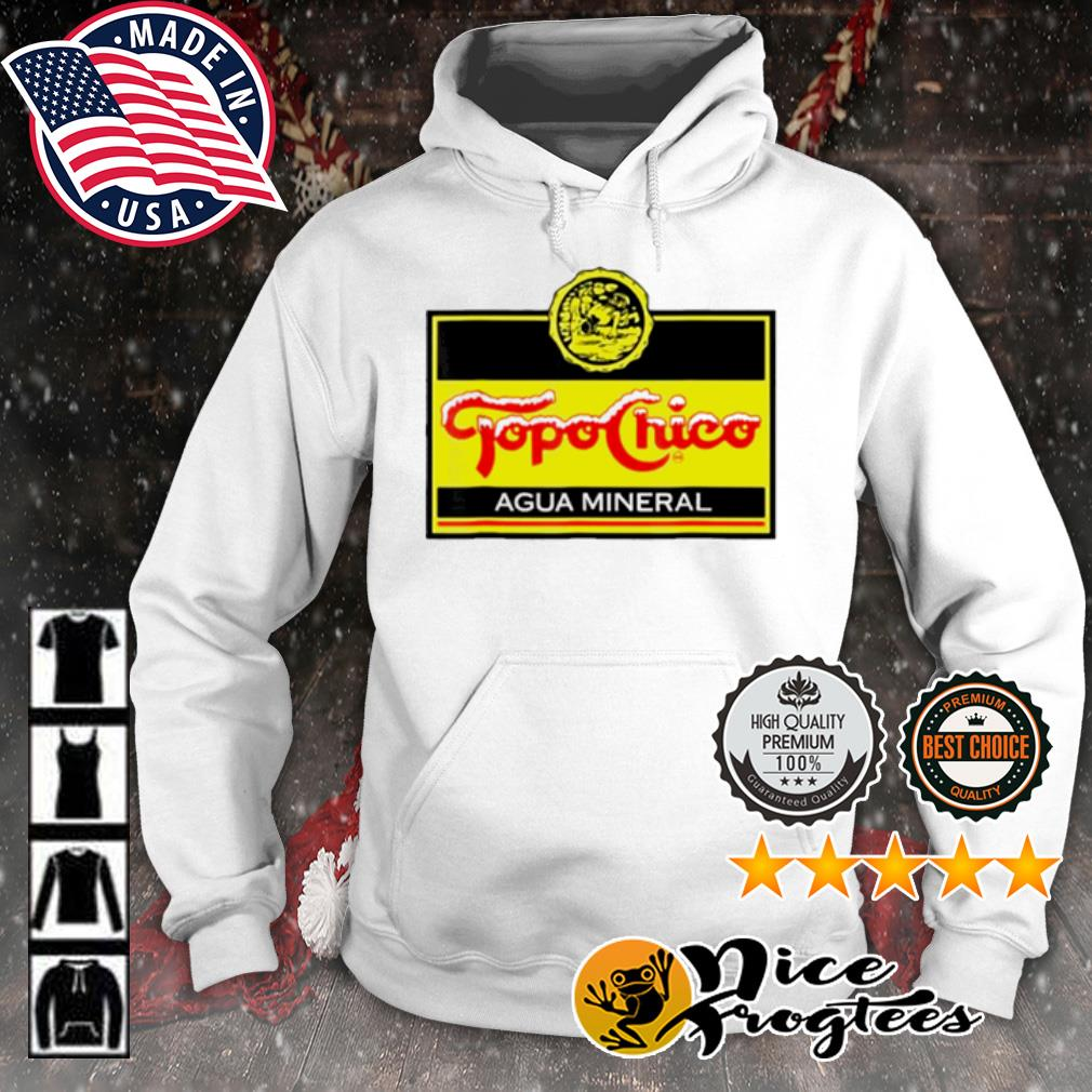 Topos chicos agua mineral logo s hoodie