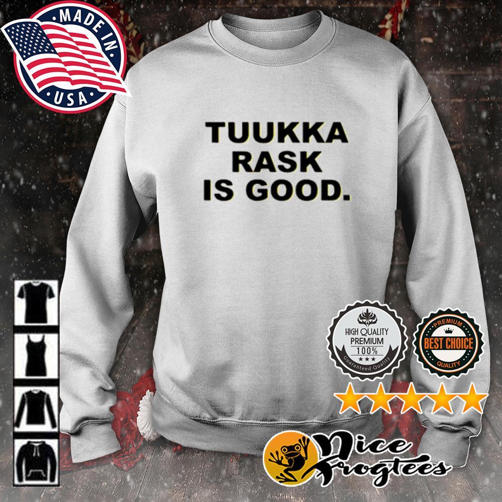 Tuukka rask is good s sweater