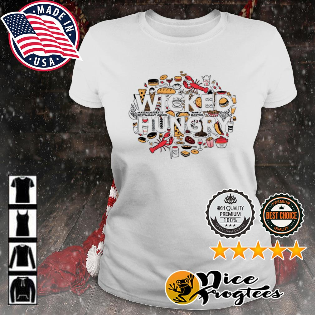 Wicked Hungry s ladies-tee