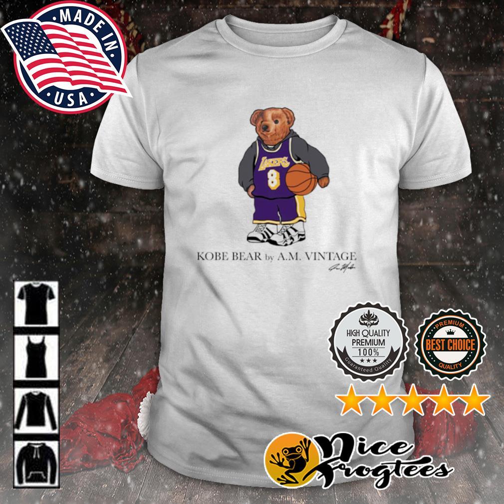 Bryant Kobe Bear shirt, hoodie, sweatshirt and tank top