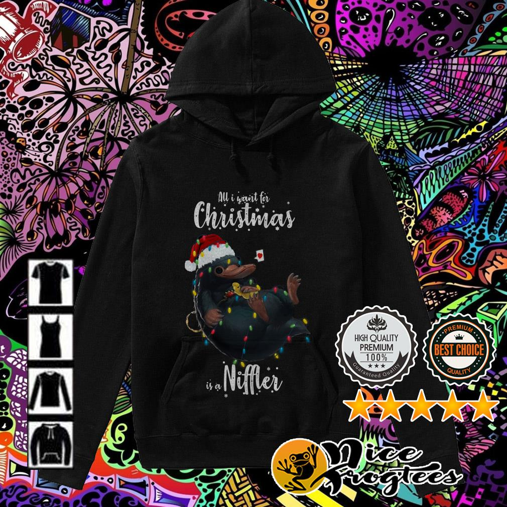 All I want for Christmas is a Niffler Hoodie