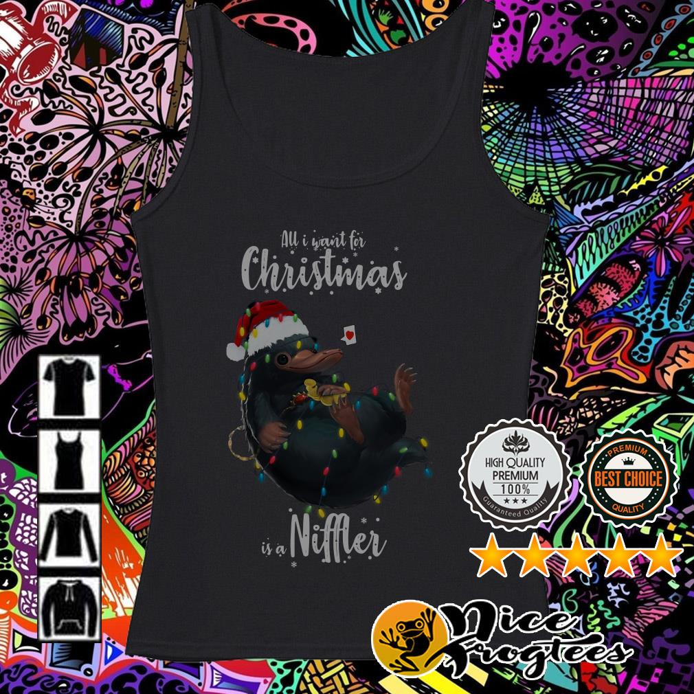 All I want for Christmas is a Niffler Tank top
