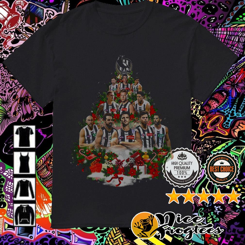 Collingwood Football Club Christmas tree shirt
