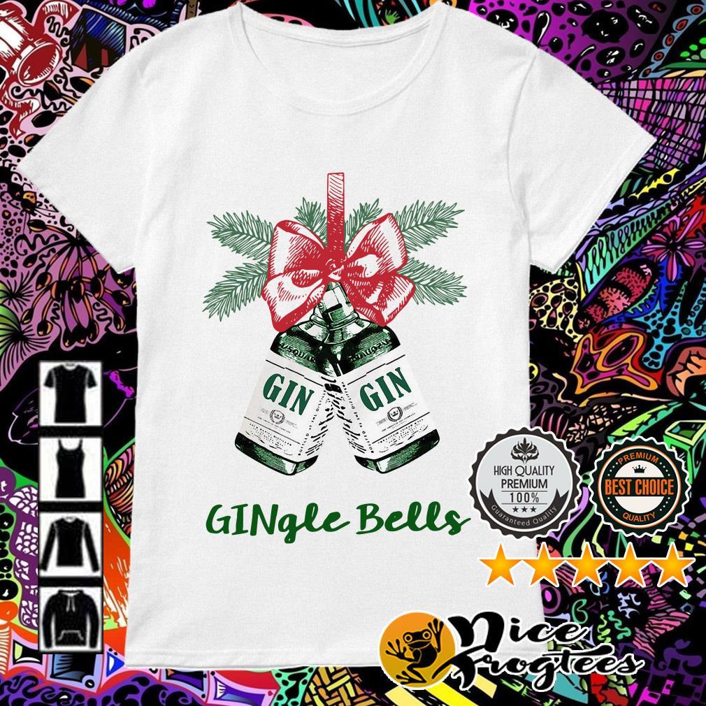 Gingle Bell Christmas Ladies Tee