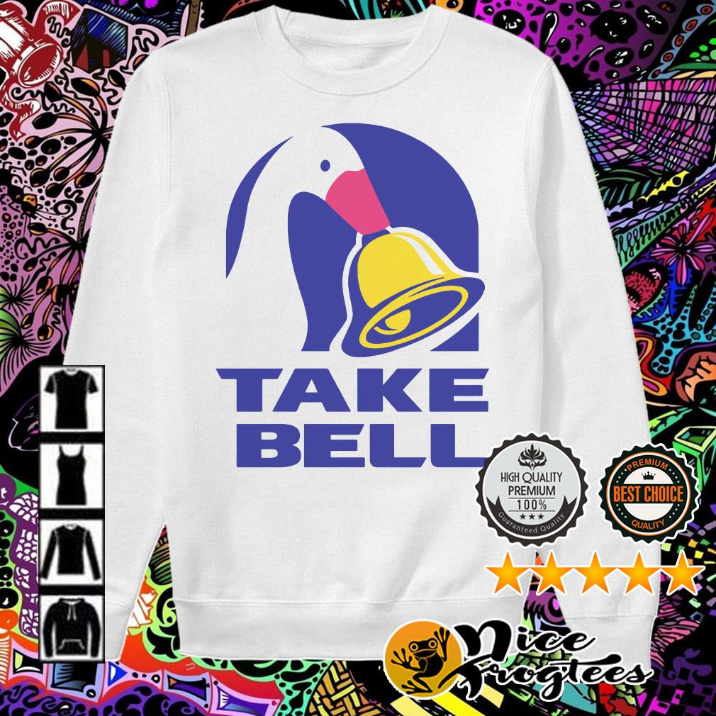 Official duck take bell Sweater