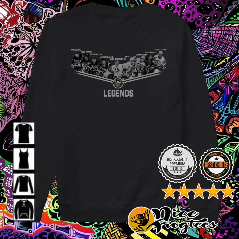 Pittsburgh Penguins team players legend Sweater