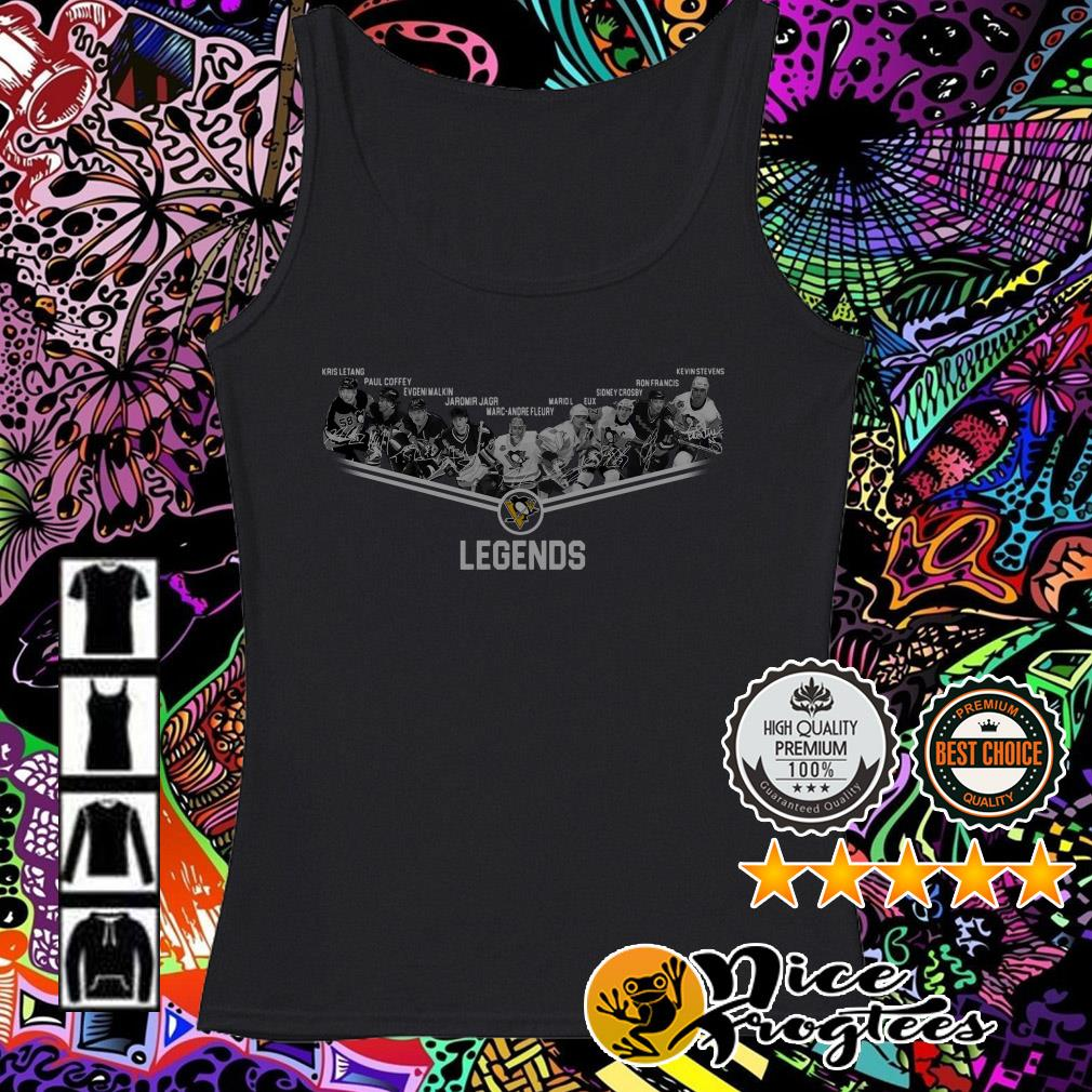Pittsburgh Penguins team players legend Tank top